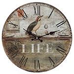 Relógio de Parede Pássaro Life