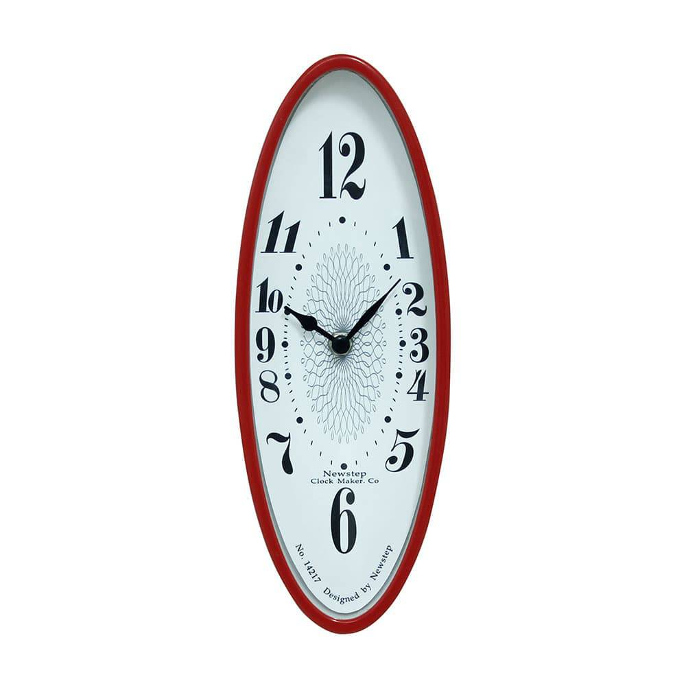 Relógio de Parede Paty Red Oldway - 31x11 cm