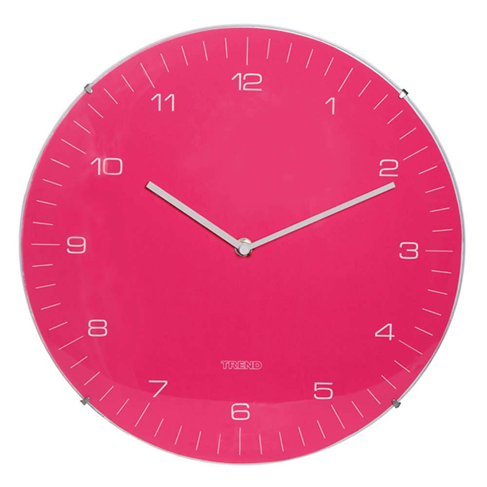 Relógio de Parede Pink - Urban - 33 cm