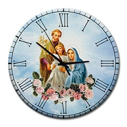 Relógio de Parede Sagrada Família