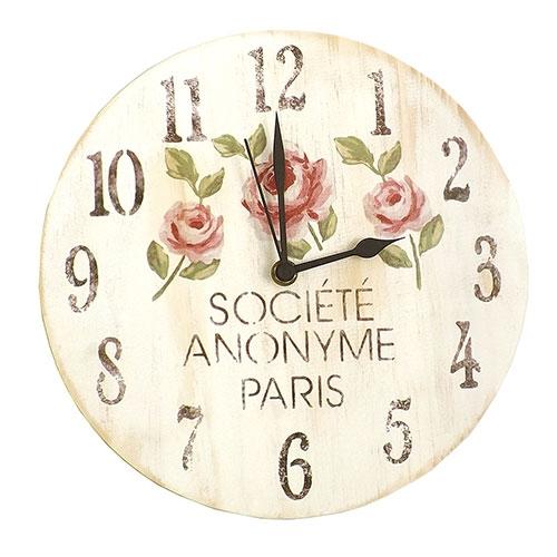 Relógio de Parede Société Anonyme Paris - Em MDF - 25 cm