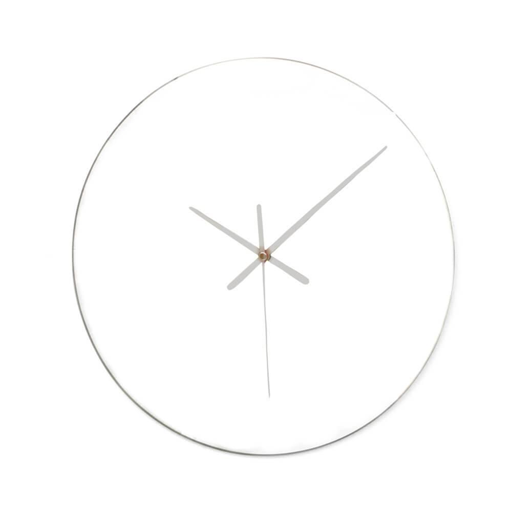 Relógio de Parede Spy em Vidro - Urban - 47x44 cm