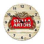Relógio de Parede Stella Artois