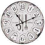 Relógio de Parede Le Cafe Bistro em MDF - Oldway - 60 cm