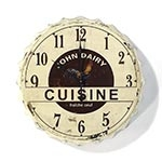 Relógio de Parede Tampa Cuisini
