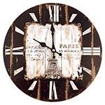Relógio de Parede Torre Eiffel Oldway