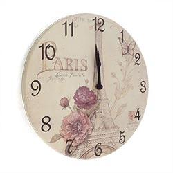 Relógio de Parede Torre Eiffel Paris