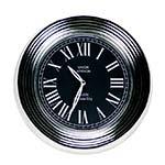 Relógio de Parede Union Station Silver em Metal - 32x32 cm