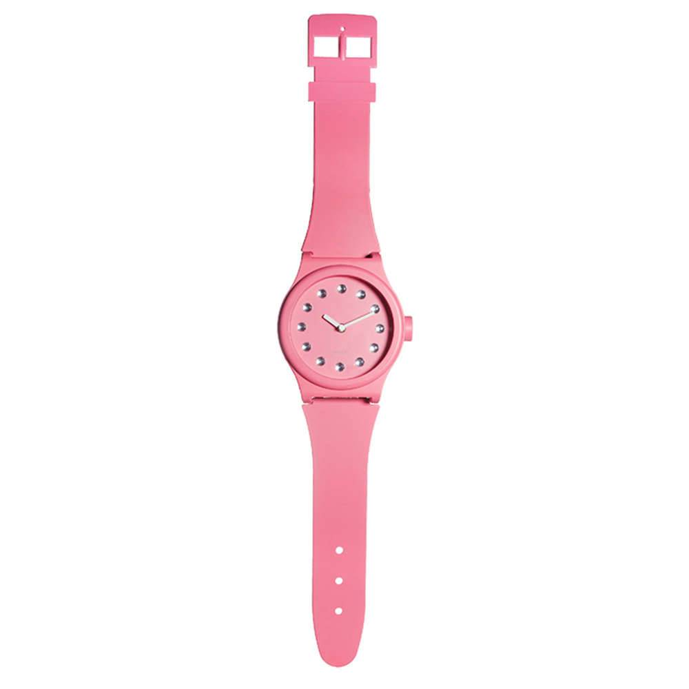 Relógio de Parede W-Watch Rosa - Urban - 99x20 cm