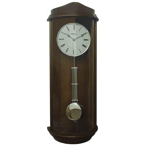 Relógio Top Design Moderno Vidro Curvo Goldway - 65x25x15 cm