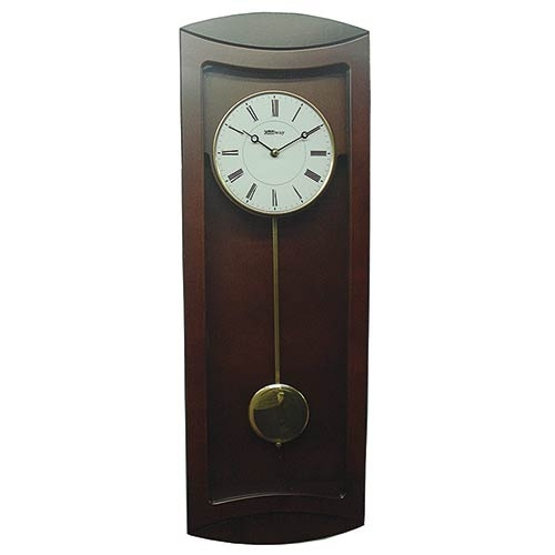 Relógio Top Design Reto Mogno Goldway - 67x23x9 cm