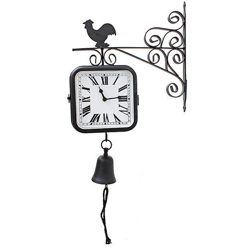 Relógio/Sino Estação Galo Greenway - 33x29cm