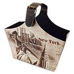 Revisteiro New York Alça Larga Fullway - 40x37 cm