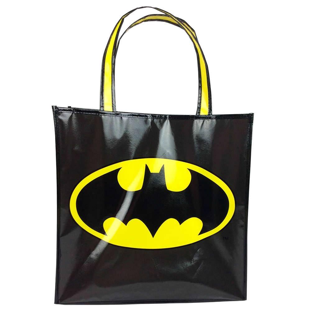 Sacola DC Comics Batman Preto em Polipropileno - Urban - 40x15 cm
