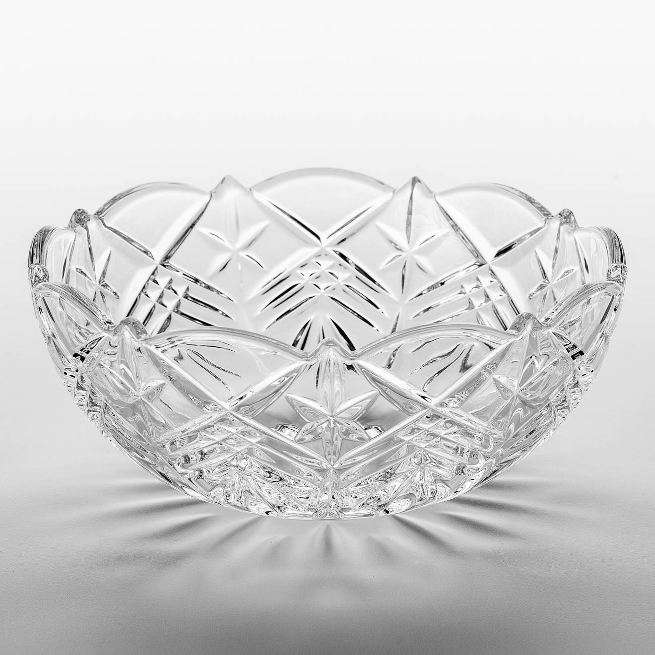 Saladeira Taurus em Cristal - Bohemia Crystalite - 22 cm