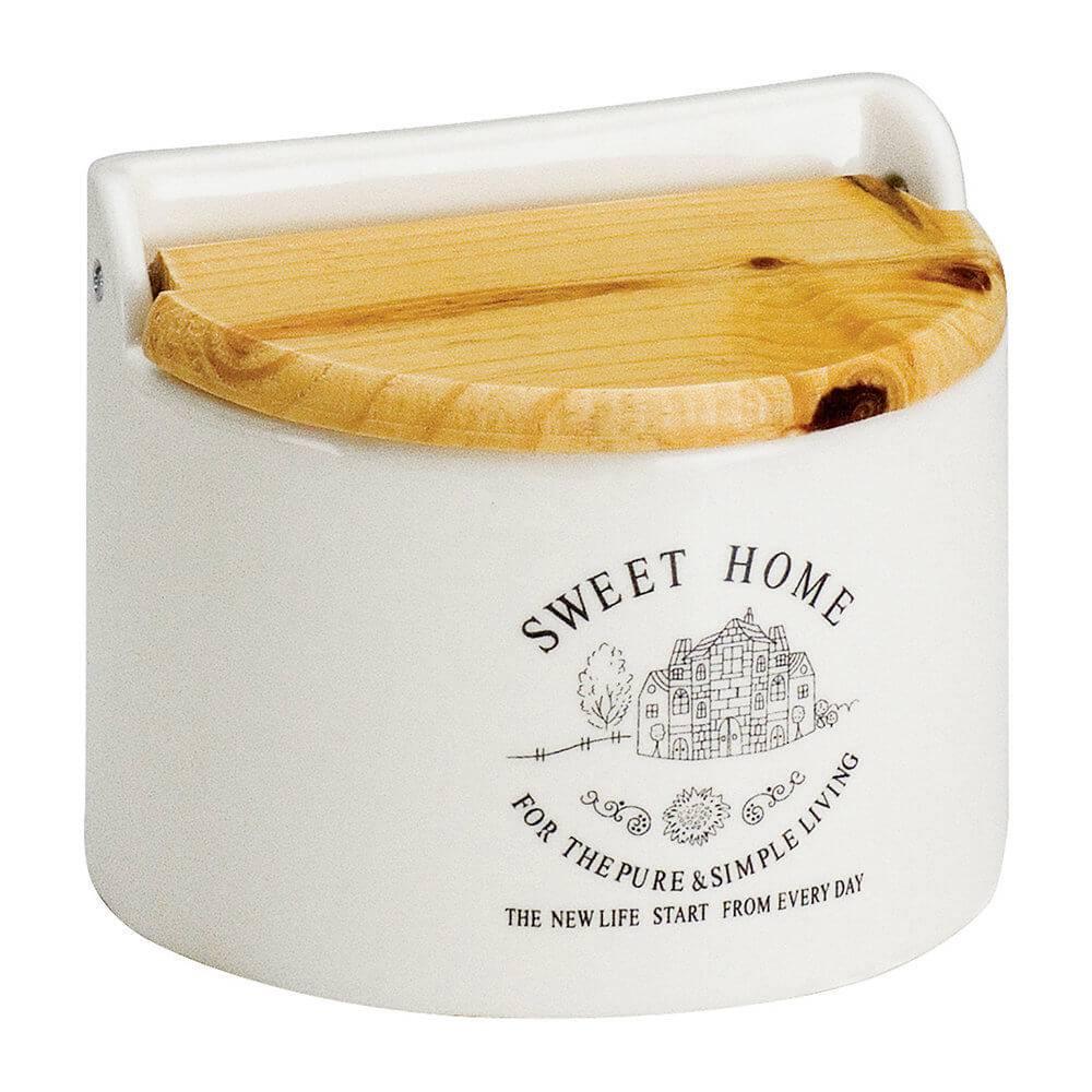 Saleiro Sweet Home de Parede - Bon Gourmet - 15x12,5 cm