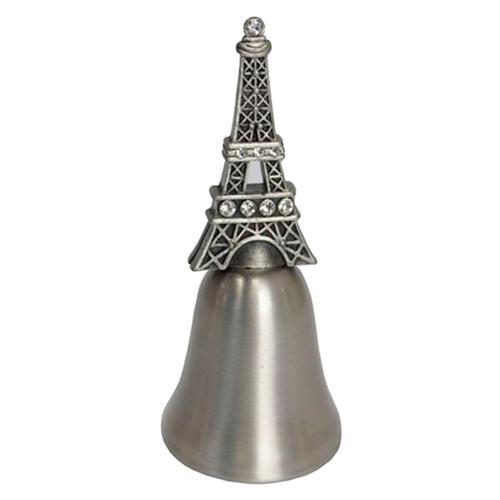 Sino Decorativo Torre Eiffel em Metal - 11x5 cm