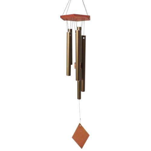 Sino Dos Ventos - Feito de 5 Alumínios / Decorativo (Catavento) / 67x11 cm