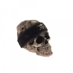 Skull gorro Harley preto