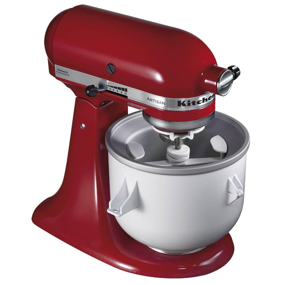 Sorveteira para Stand Mixer KitchenAid - KIP01CX - 27,9x25,4 cm