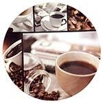 Sousplat Café na Xícara Fullway - 33cm