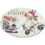Sousplat Venezia Flores Fullway - 33cm