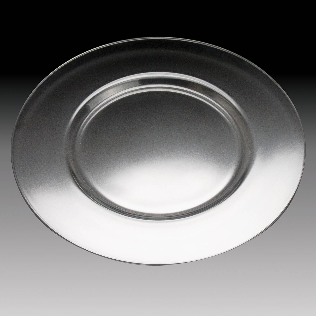 Sousplat Rialto em Vidro - Caldier - 35 cm