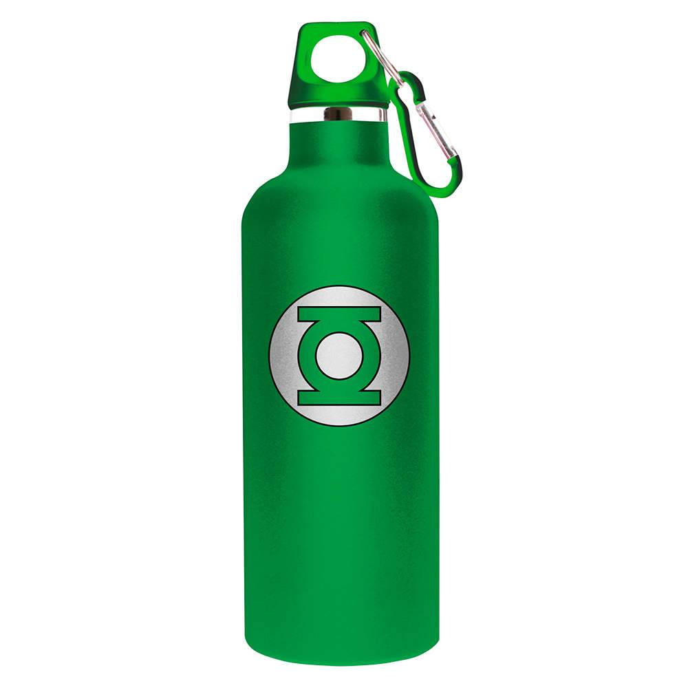 Squeeze DC Comics Green Light 750 ml Logo Verde em Alumínio - Urban - 26x7 cm