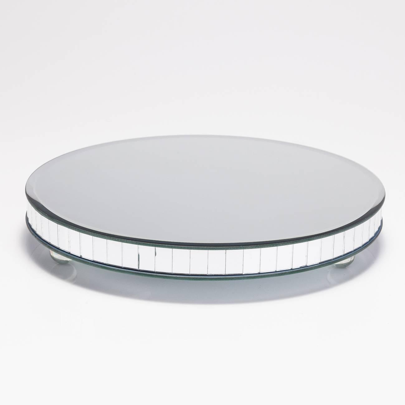 Suporte para Bolo/Doces Espelhado - Prestige - 25 cm