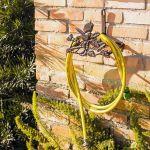 Suporte de Mangueira Pássaro e Folhas Greenway