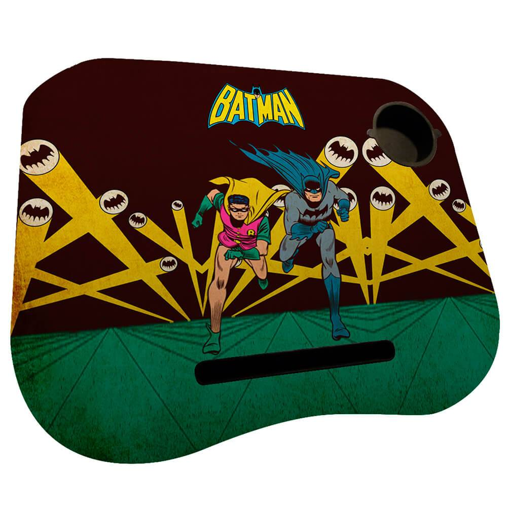 Suporte para Notebook DC Comics Batman And Robin Running em MDF - Urban - 48x36 cm