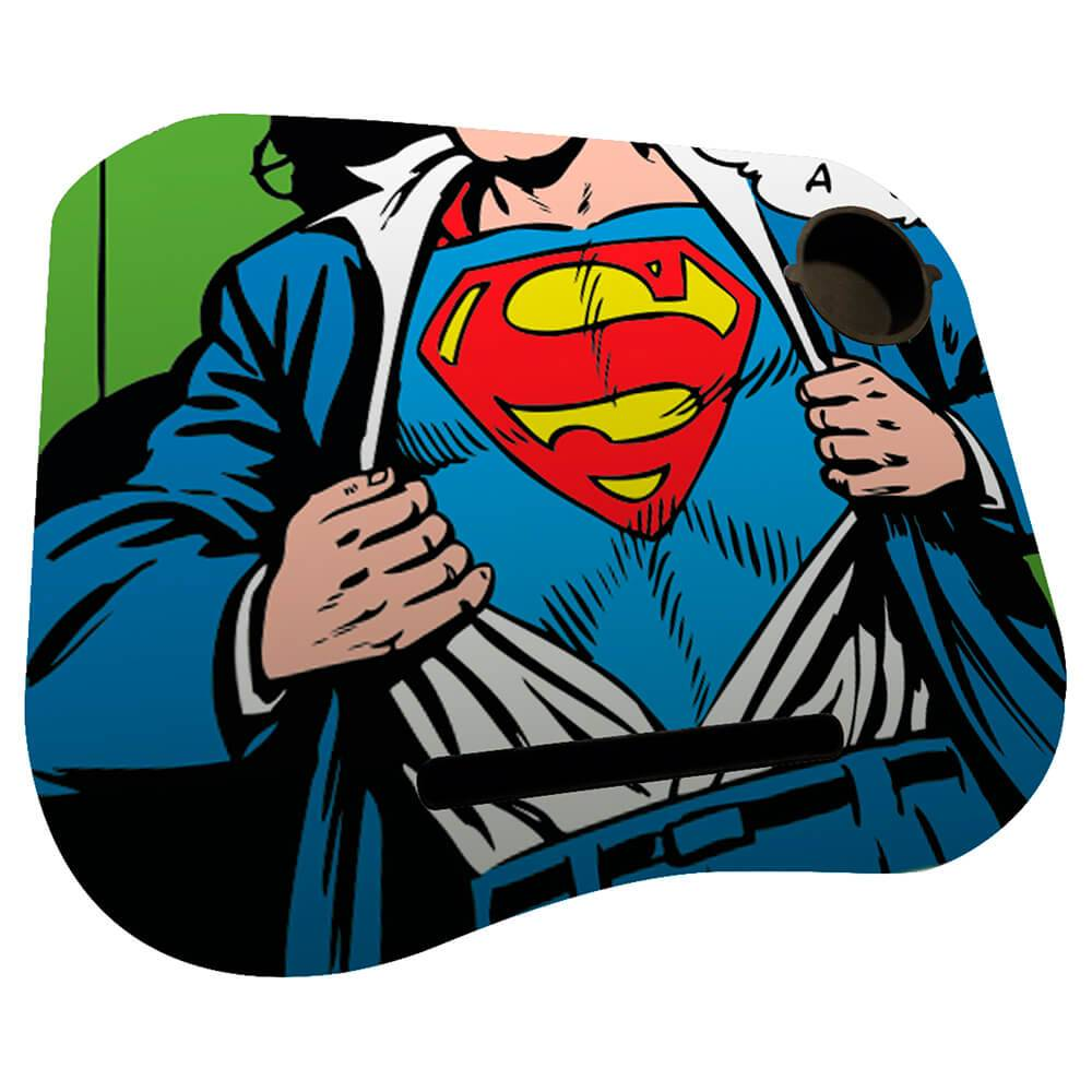 Suporte para Notebook DC Comics Superman Opening Shirt em MDF - Urban - 48x40 cm