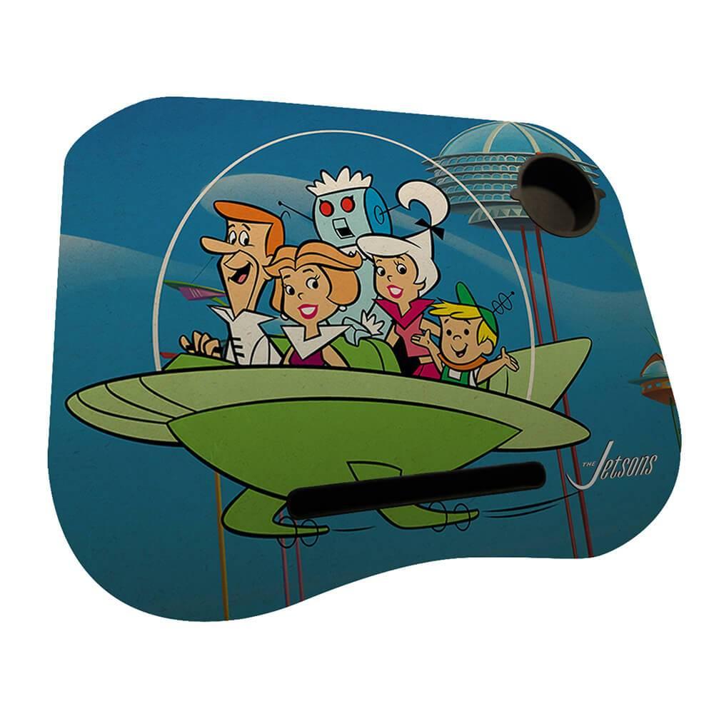Suporte para Notebook Hanna Barbera The Jetsons Family Spaceship em MDF - Urban - 48x38 cm
