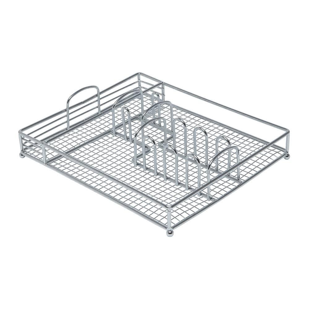 Suporte p/ Talheres Basket - Bon Gourmet - 30x26 cm