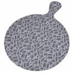 Tábua de Corte Barcode em Melamina - Urban - 33x24 cm