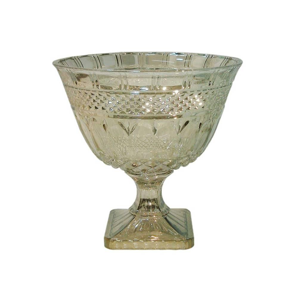 Taça Elise Champanhe em Vidro - 26x25 cm