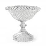 Taça Glass em Vidro Transparente - 13x12 cm