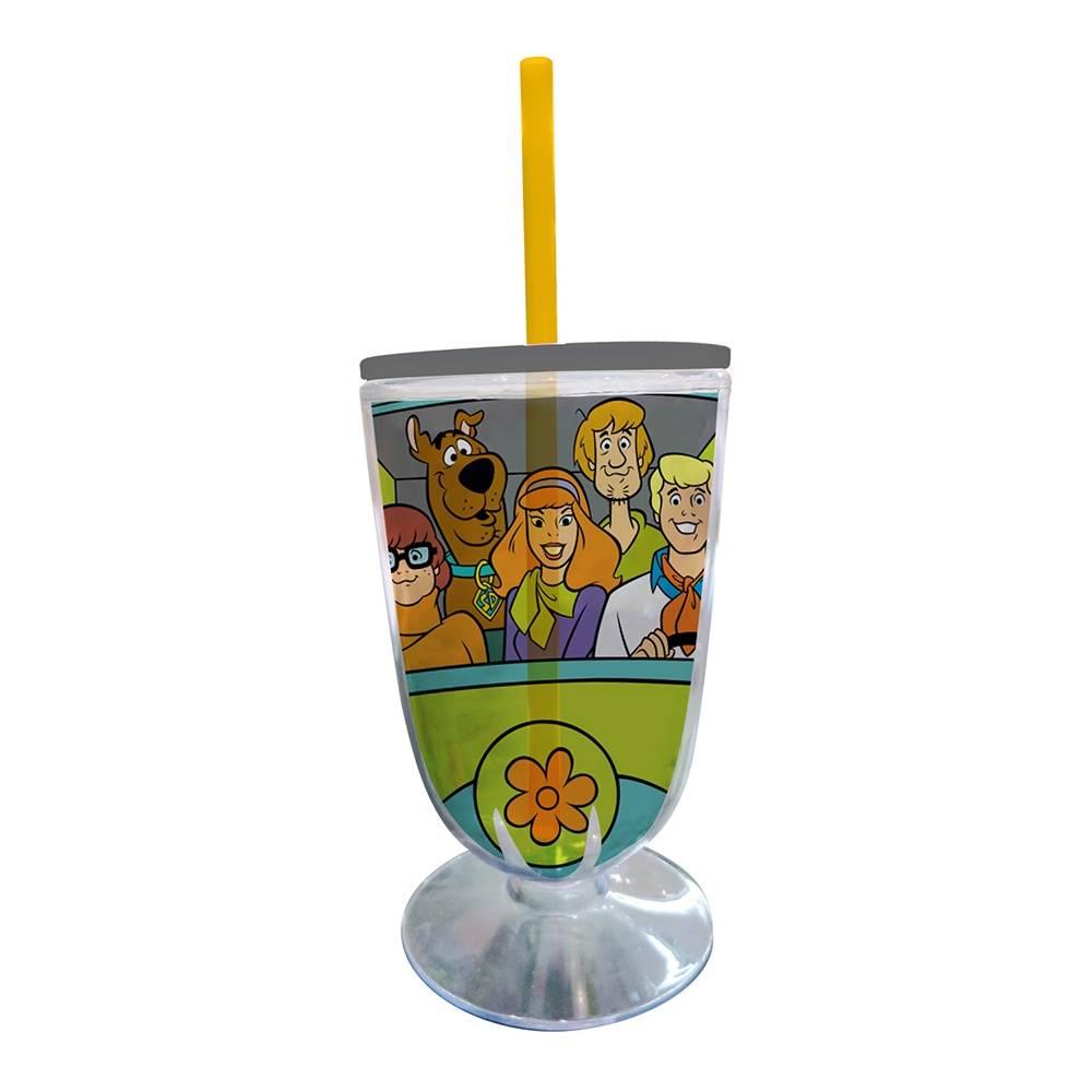 Taça Hanna Barbera Scooby Everybody In The Mistery Machine em Acrílico - Urban - 25x10,5 cm
