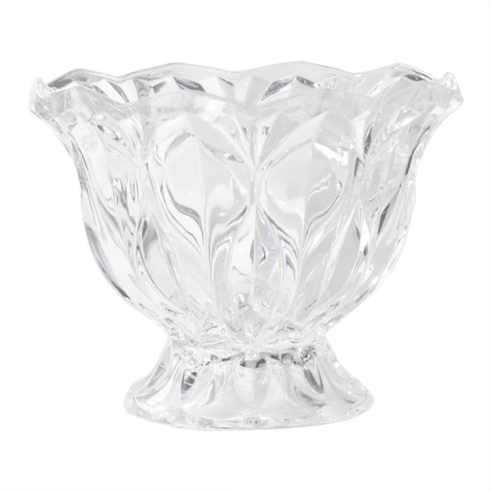 Taça Narvik Transparente em Vidro - 17x13 cm