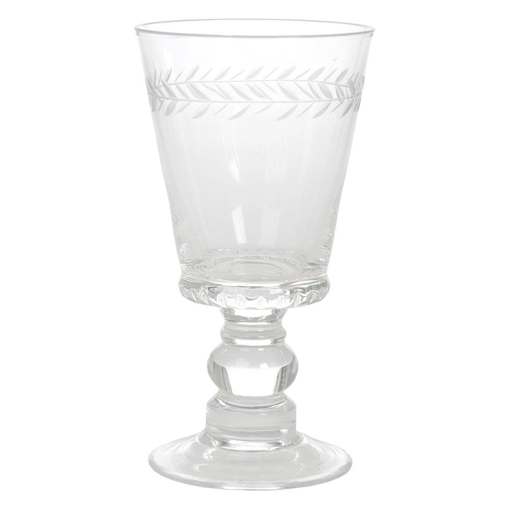 Taça de Vinho Branco Delirium Transparente em Vidro - 15x8 cm