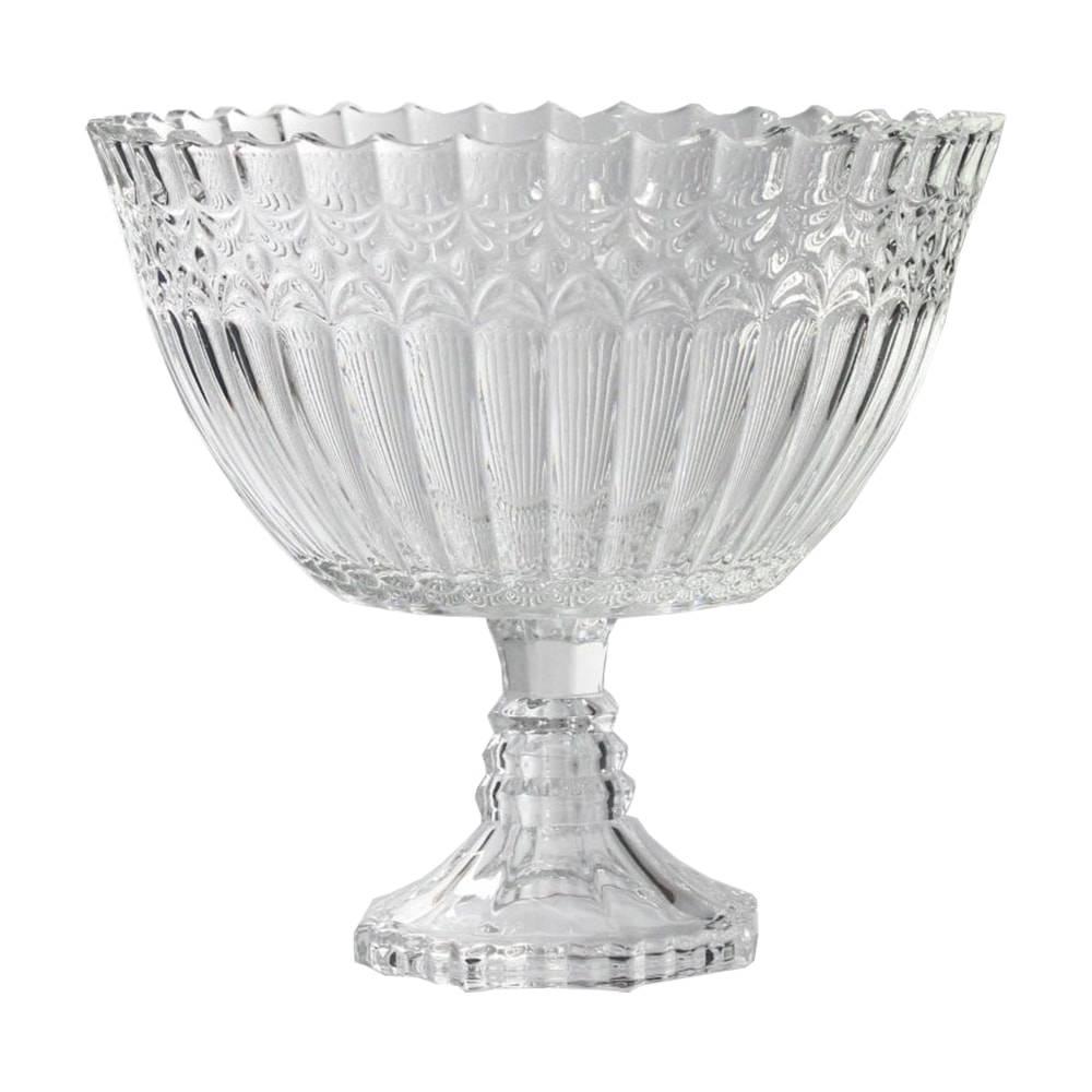 Taça Ystad Transparente em Vidro - 23,5x20 cm