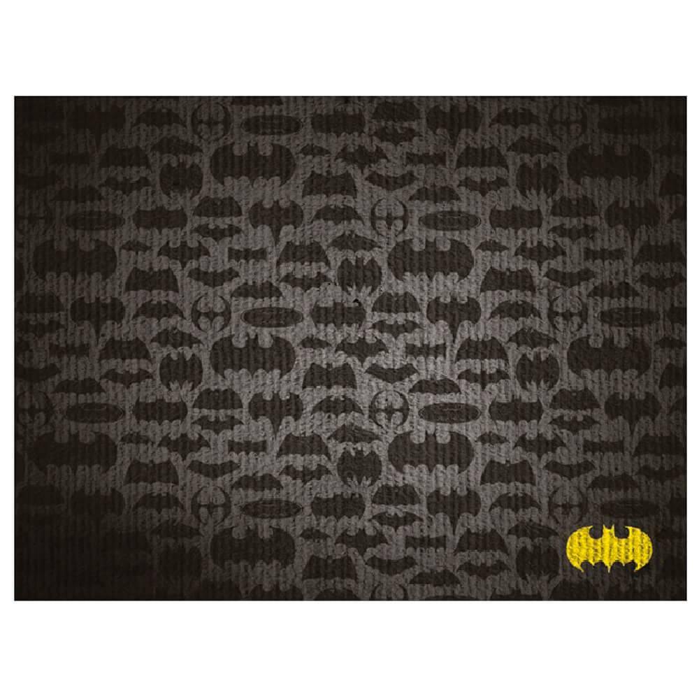 Tapete DC Comics All Bats em Poliéster e Algodão - Urban - 120x50 cm