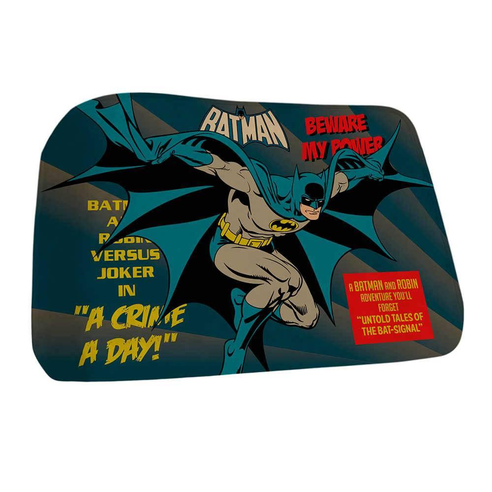 Tapete DC Comics Batman Beware My Powers em Poliéster - Urban - 70x40 cm