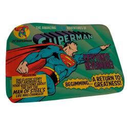 Tapete DC Comics Superman Flying Azul em Poliéster - Urban R$ 109,80 R$ 72,80 1x de R$ 65,52 sem juros