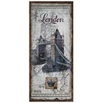Tela Antiga London Bridge Linho Oldway - 127x56 cm