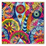 Tela Arabesco Colorido Impressão em Tecido