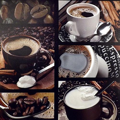 Tela Coffe Break - Impressão Digital - 60x60 cm