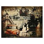Tela Cuba Carro Che Guevara Oldway - 30x40 cm