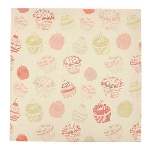 Tela Cupcake - Impressão Digital - 28x28 cm