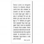 Tela Dance Jamil e Uma Noites Impressão em Tecido